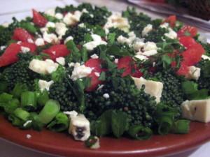 брокколи салат