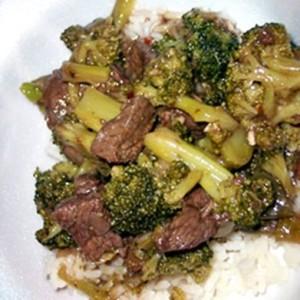 brokkoli с мясом