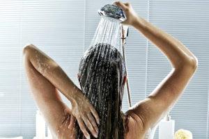 утренний душ